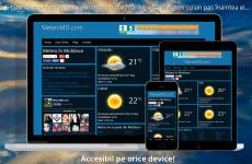 Acum MeteoMD.com e compatibil cu orice device