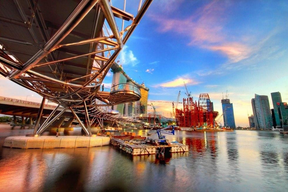 Podul Helix din Singapore